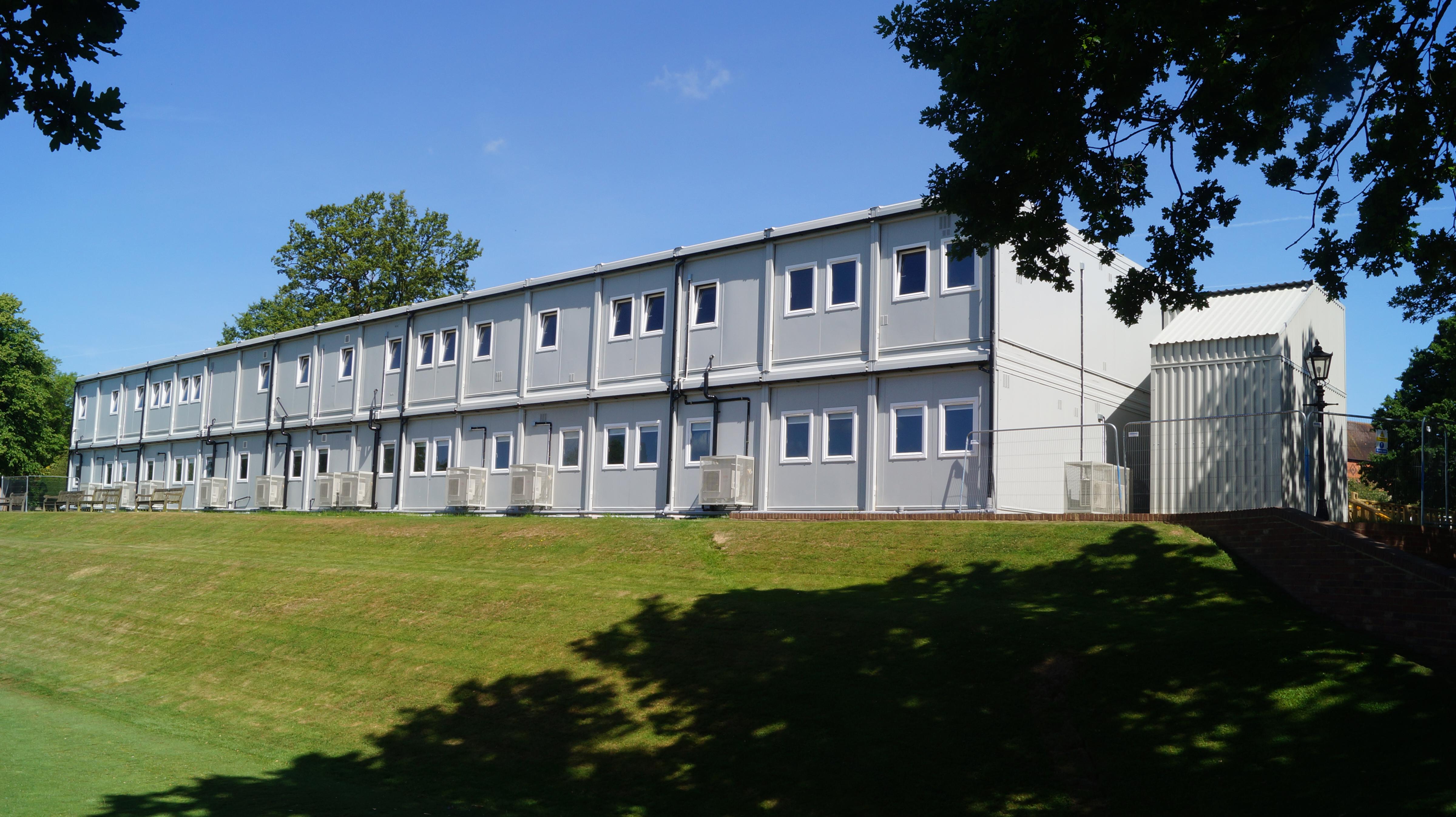 Tonbridge School Temporary Science Village Premier Modular